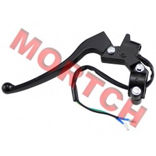 Black Aluminum Solana Brake Lever - Left