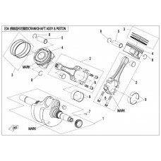 CFMoto CF1000 Connecting Rod Parts