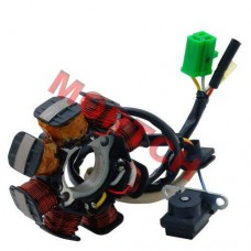 GY6 50cc 8 Pole Stator 4 Wires